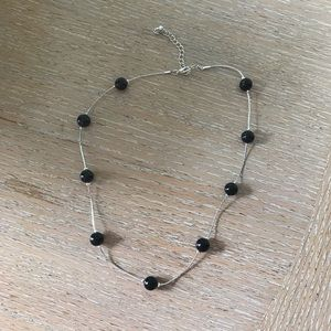 Jewelry - Necklace - black and silver